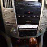 Lexus RX330 не работает подсветка магнитолы, ремонт