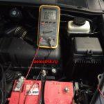 Lexus RX330 разряжается аккумулятор, ищем утечку тока